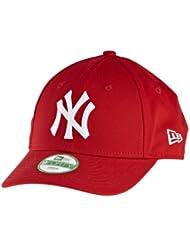 New Era Mlb Basic Ny Yankees 9Forty Adjustable Grey - Casquette de Baseball - Homme