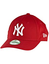 New Era Mlb Basic Ny Yankees 9Forty Adjustable Grey - Casquette de Baseball - Homme