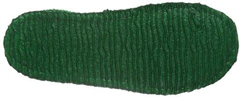 Giesswein Triptis, Chaussons garçon Vert - Grün (455 Mittelgrün)