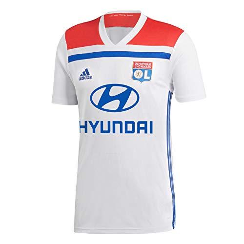 que Lyon 2018/2019 Heimtrikot, weiß/Blau/Rot, L-52/54 ()