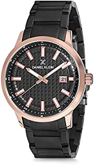 Daniel Klein Analog Black Dial Men's Watch-DK122
