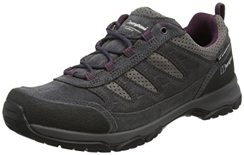 Berghaus Expeditor Active Aq Tech Shoes, Scarpe da Arrampicata Donna Multicolore (Grey/wine)
