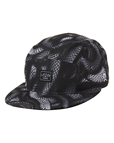 Cayler And Sons - Casquette 5 Panel Homme Milano Cap - Black/Black Snakes
