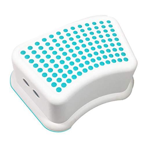 WC de bain Tabourets Salle de bain WC Tabouret Repose-pieds en plastique WC Tabouret Toilette Tapis de voyage pour enfant Tabouret bas (Couleur : A)