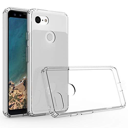 Cubevit Google Pixel 3 Hülle, [Crystal Clear] Case Cover, Ultra Dünn Premium Soft TPU Schutzhülle, Kratzfest Durchsichtige Silikon Slim Handyhülle für Google Pixel 3 (2018) -Transparent