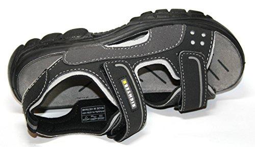 Juge-chaussures 75.8705.1021 garçon sandales, sandales outdoor Noir - Schwarz (schwarz/asphalt/roc 1021)