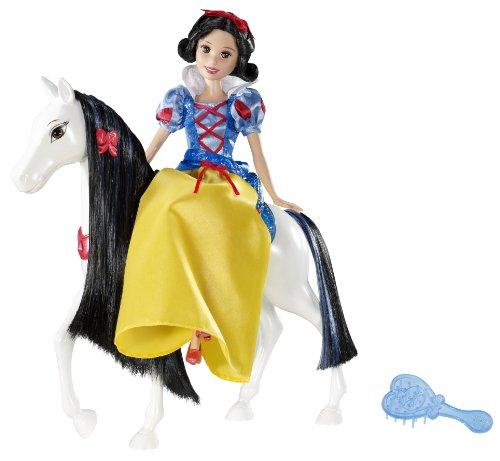 Disney Princesses - V1659 - Poupée Mannequin - Blanche Neige et Cheval