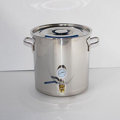 Neuf Maison DIY Distillateur Distillation Brassage Acier Inoxydable Thermomètre Eau Huile Essentielle Kits de vinification maison