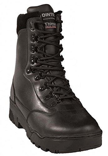 "Mil-Tec Mil-Tec Stiefel ""Tactical"" Leder Schwarz Gr.39 [Misc.]"