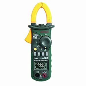 MASTECH MS2108 Double Insulation 6600 Counts Digital Digital AC/DC Clamp Meter by Mastech