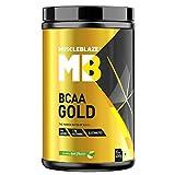 MuscleBlaze BCAA Gold 8:1:1 (450 g - green apple)