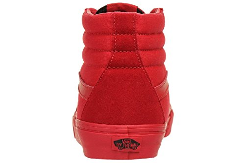 Vans UA Sk8-hi, Sneaker Alte Unisex - Adulto Rosso