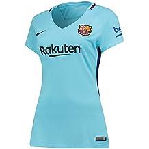 Nike - Camiseta Mujer 2ª equipación FC Barcelona 2017-2018 Stadium Breathe c28c77821dc31