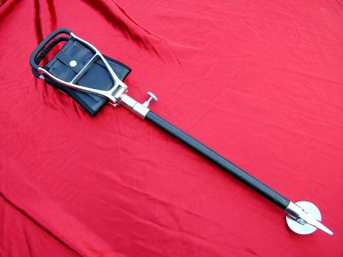 a01-fusions-event-alloy-adjustable-shooting-stick-with-leatherette-bound-shaft-and-seat-with-free-gi