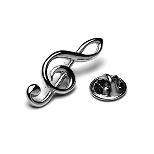 Violinschlüssel Musik Note Anstecknadel Tack Krawatte