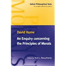 An Enquiry Concerning the Principles of Morals (Oxford Philosophical Texts) by David Hume (1998-01-29)