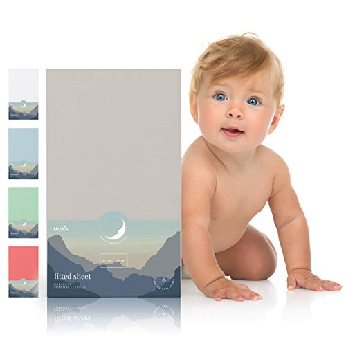 Laleni Spannbettlaken für Babybett Kinderbett - 60x120 bis 70x140 cm, atmungsaktiv, 100{ce0b10fb6641d748b4cc6c7e21b1ecda3371aa79ebae81e1225bd65b4f4385ab} Baumwolle