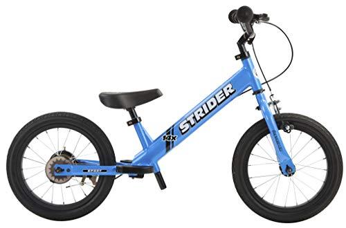 Strider Draisienne 14 Pouces Sport - Vélo sans pédale Enfants 3 à 7 Ans - Draisienne évolutive bébé en vélo - Coloris Bleu