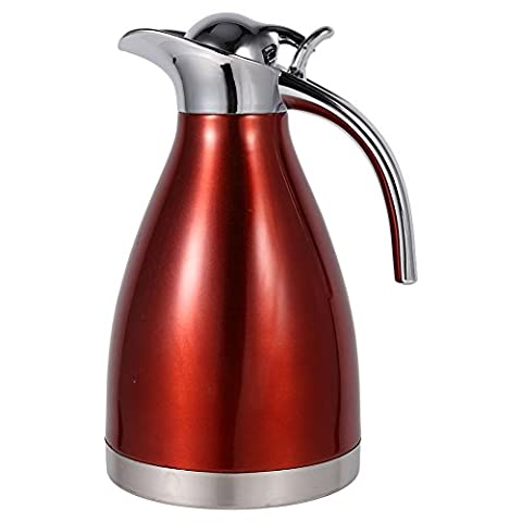 Stainless Steel Coffee Pot Double Wall Vacuum Insulated Thermos Jug