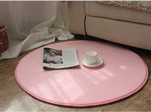 juan Fußmatte Rundes Sechseckiges Zelt Einfarbig Korallensamt Yoga Fitnessmatte Hängekorb Fußmatte Nachttisch Und Stuhl Teppich Modern Simplicity 120Cm X 120Cm
