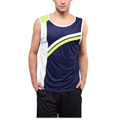 Yepme Anderson Muscle Vest - White -- YPMMTEE0010_L