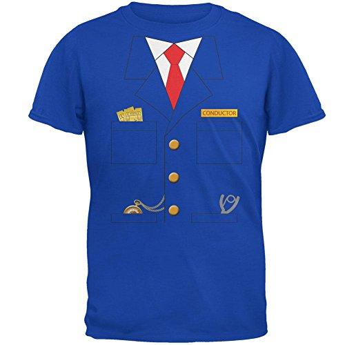 Halloween Zug Dirigent Kostüm Royal Erwachsenen-t-Shirt-X-Large