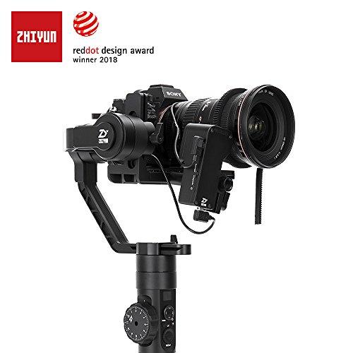 Zhiyun Crane 2 (última versión) estabilizador de mano de 3 ejes cardán con Follow Focus control para DSLR y cámaras sin espejo hasta 7 libras