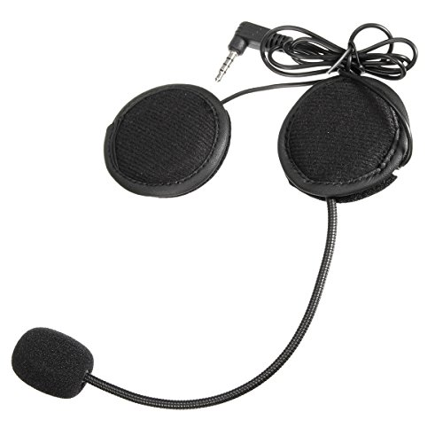 Wooya Headset Earphone Für 1000M Motorrad-Helm-Intercom-Headset Mit Bluetooth-Funktion