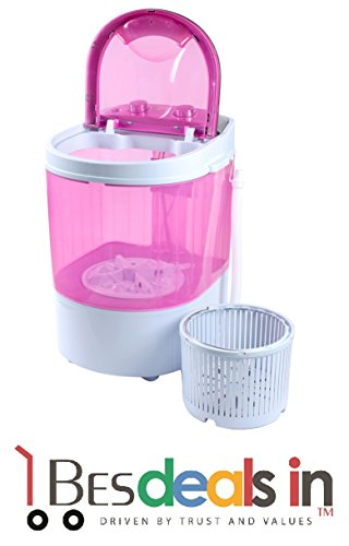 Vigorous 3 kg Portable Mini Washing Machine with Dryer Basket