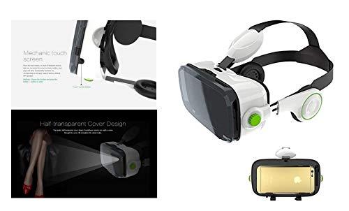 BOBOVR Z4 Xiaozhai Z4 3D VR Brille VR Einstellbar Virtual Reality Headset 3D Gläser 120 ° FOV 3D 4-6 Zoll Film Video Smart Handy Game Privat Theater Galaxy iPhone Xperia Kopfhörer weiß/schwarz