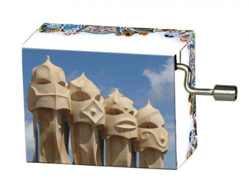Fridolin 147.995,6cm Papillon frei wie der Wind/Gaudi Kamin Köpfe Musik Box -