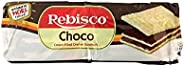Rebisco Choco Cream Filled Cracker Sandwich, 10 X 34g - Pack of 1