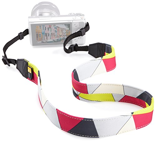 Case Logic Saigon DSLR Neck Strap Kamera-Schultergurt Trageriemen (universal passend) Triangles (Armband Case Logic)