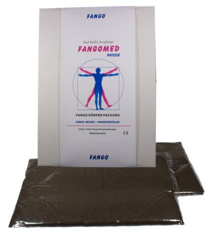 Fangopackung / Heilschlamm-Fangowickel, 2 Stk je ca. 2.000g - für Rücken-Schulter-Lenden