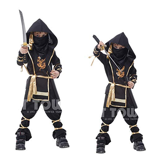 Baby Kostüm Donatello - ZSDFGH Ninja Turtles Kostüm/Ninja Kostüm/Ninja Turtles Kostim Baby/Fasching Kostüm Kinder,Black-XXXL