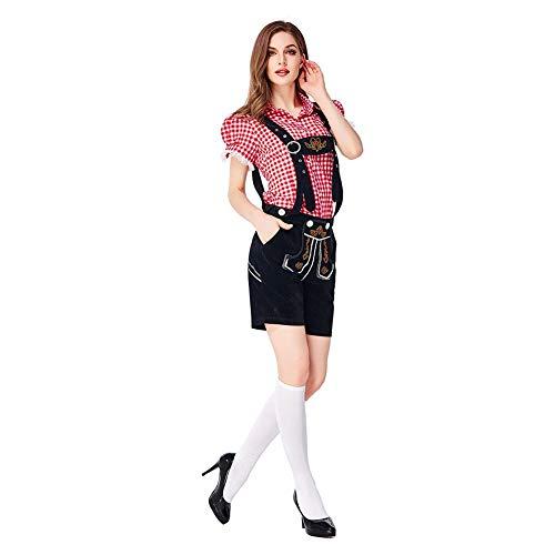 Bilder Deutsche Traditionelle Kostüm - Wanyudz Deutsch traditionelle Oktoberfest Kleidung Kostüm Bühne Trachten Oktoberfest Halloween Party Kellnerin Kostüme