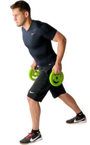 Oliver Prime Pump Langhantel Set 16 kg Hanteln Set Fitness Training Gewichte - 2