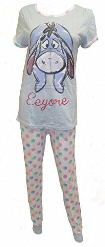Disney Eeyore Damen Pyjamas UK 8-10