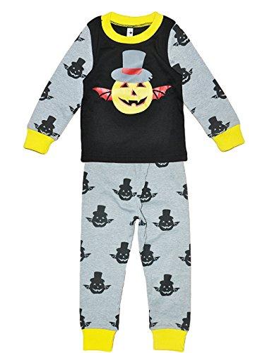 Tkria Niño De Halloween Calabaza Pijama para Niños 1-6 Años 89-122