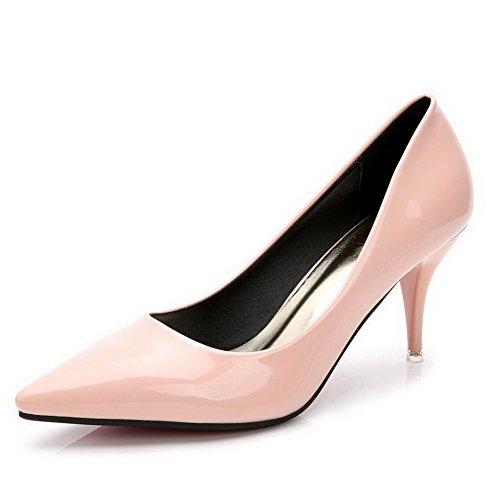 aalardom-femme-verni-a-talon-haut-fermeture-dorteil-pointu-chaussures-legeres-rose-conique-375