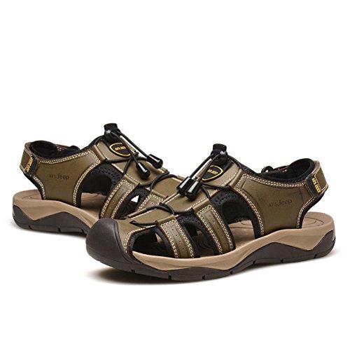 Sandales pour hommes Casual/Souliers de plage respirant baotou/Casual sandales B