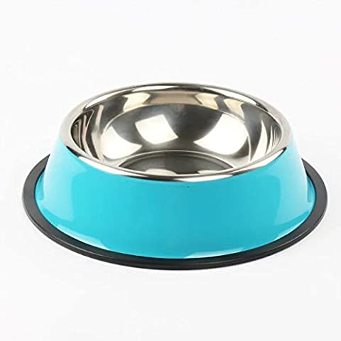 REAMIC solid stainless steel pet food bowl