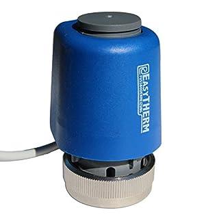 EasyTHERM thermischer Stellantrieb M30 x 1,5 für Fußbodenheizung (230 Volt)