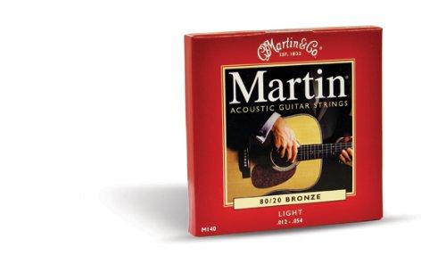 MARTIN M140   CUERDAS PARA GUITARRA ACUSTICA ( 012)