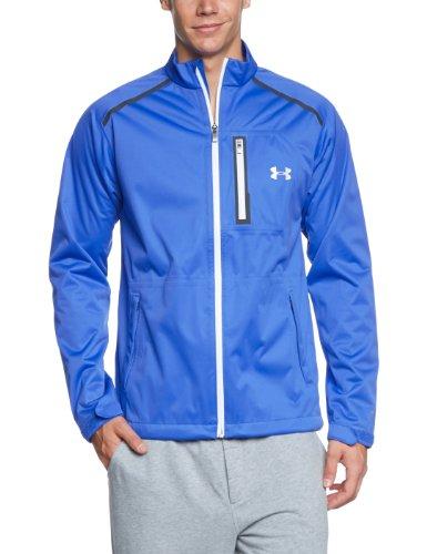 Under Armour ArmourStorm Cocona impermeabile giacca di Golf, Uomo, Jacke Storm Cocona, Blu - Blu/Bianco, XL (XL)