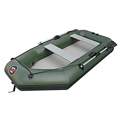 SummerYoung Boat Rubber PVC Inflatable Fishing Kayak Wear Resistant Air Deck Slats Bottom from SummerYoung