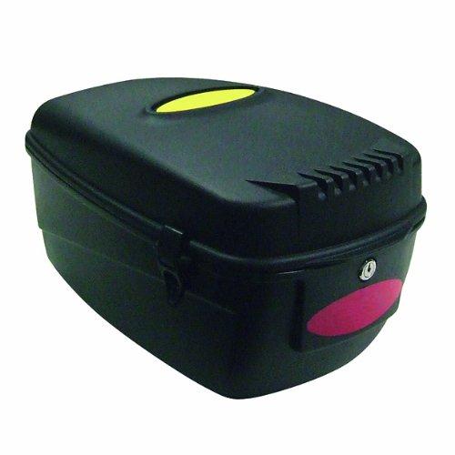 fahradkoffer Point Gepäckträgerbox Festmontage- abschließbar- inkl. Befestigungsmaterial, schwarz, 05106601