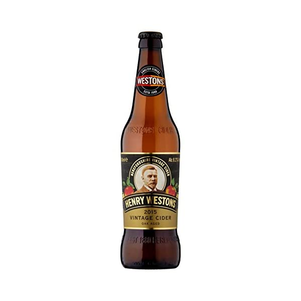 Westons Henry Vintage Cider, 12 x 500 ml 1