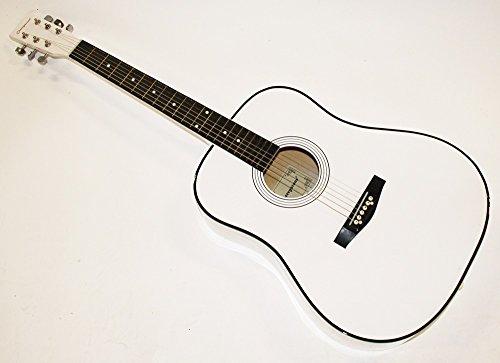 "Cherrystone 41"" Westerngitarre 4/4 Akustik Gitarre MY41 (weiss)"