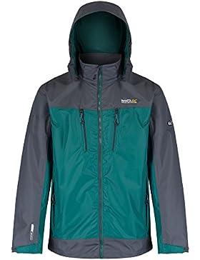Regatta Mens Calderdale II Waterproof Breathable Rain Coat Jacket